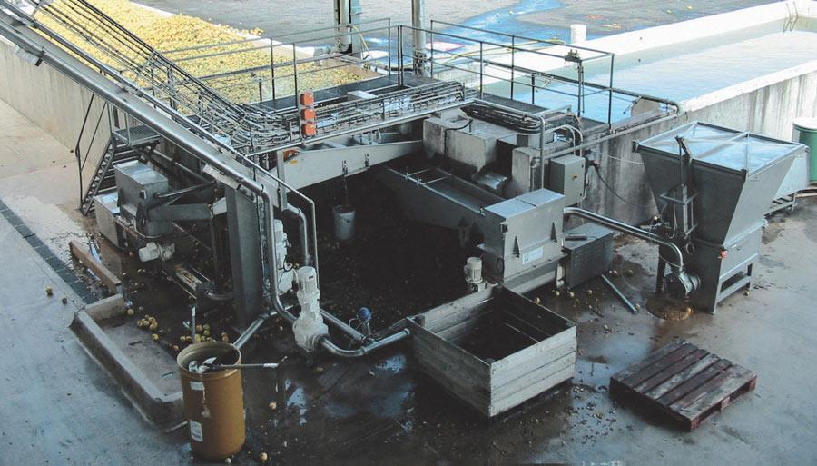 GVA пищевые Винтовые насосы с бункером на месте эксплуатации