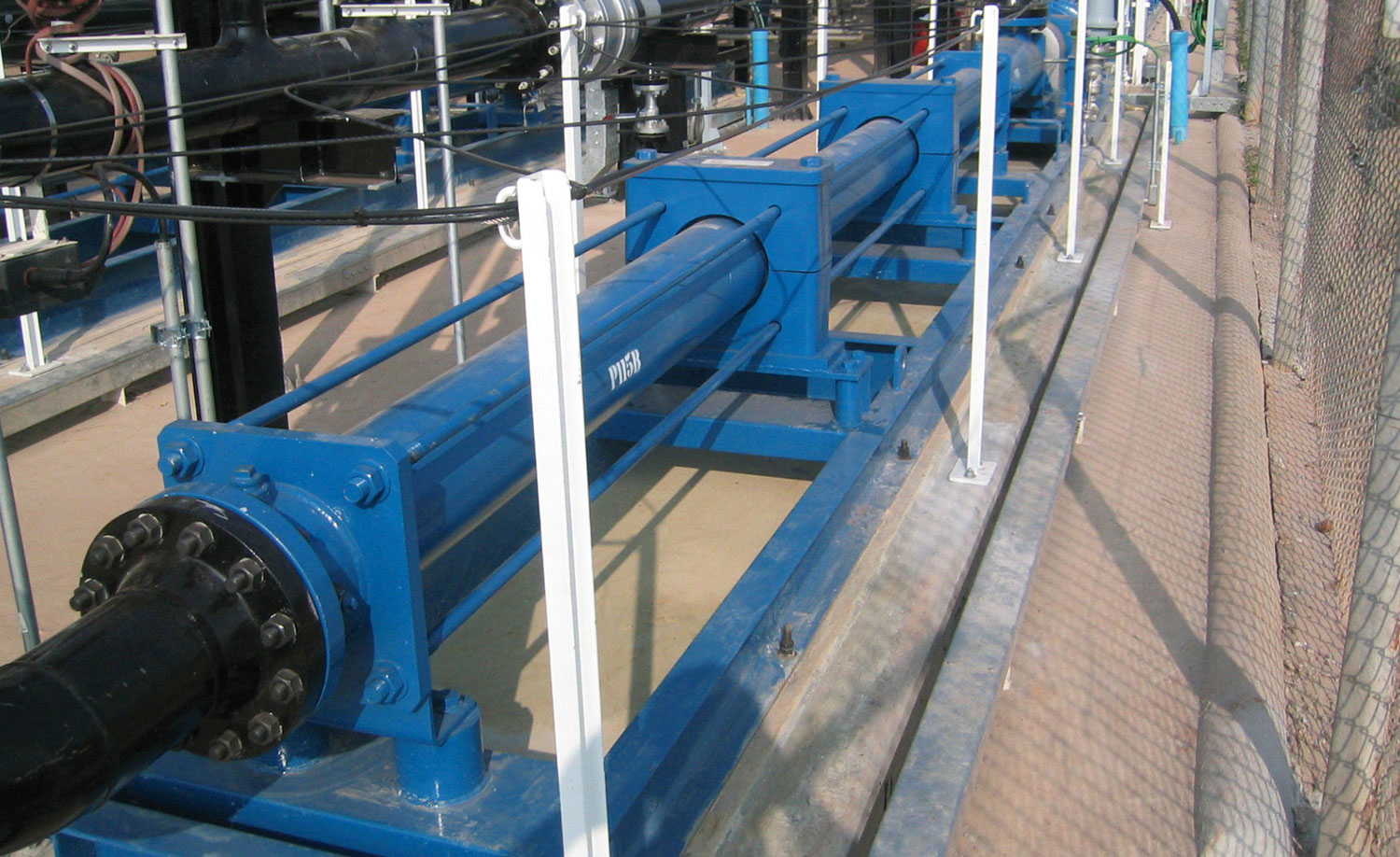 PCM Multiphase Booster-Pumpe am Brunnen Sirikit, Thailand