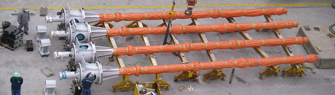 PCM Troika long shaft vertical PCP in FPSO