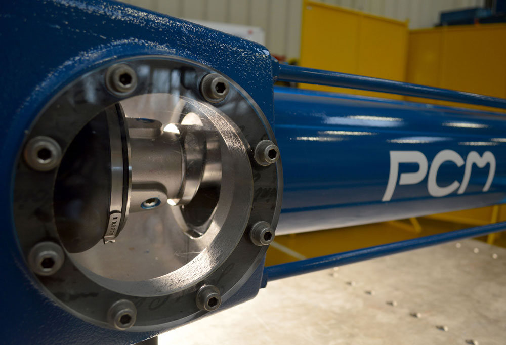 PCM cast iron progressing cavity pump - 180M6L model