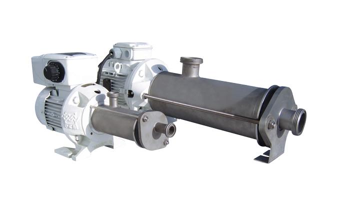 PCM compact in acciaio inossidabile