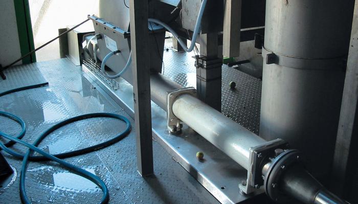 Pompe gaveuse IVA-LVA sur site