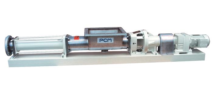 Exzenterschneckenpumpe mit trichter PCM IVA