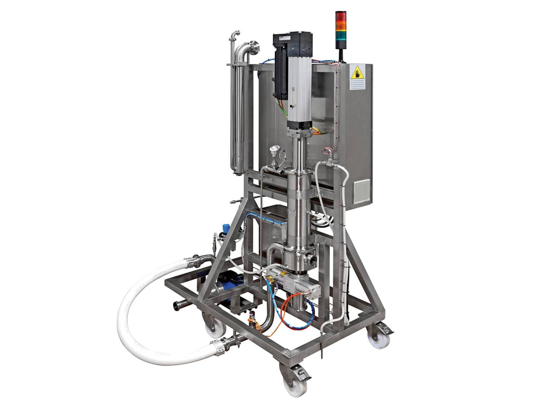 Pouch Filling station di PCM, è ideale per un dosaggio accurato e preciso di svariate salse e condimenti