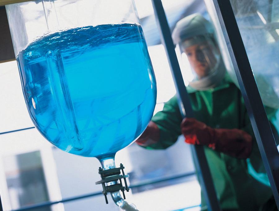 Системы перекачивания ПСМ коррозийных и деликатных жидкостей для химической промышленности