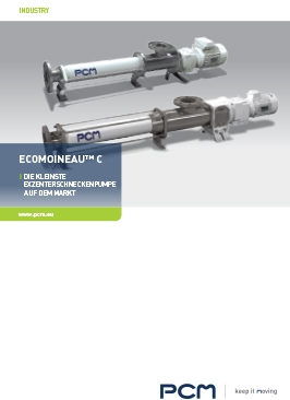 EcoMoineau™ C edelstahl PCP Broschüre
