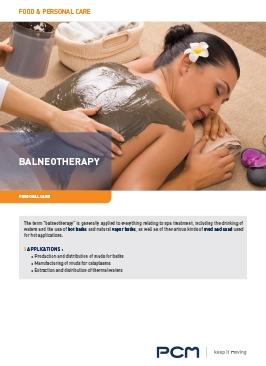 Листовка - Бальнеотерапия