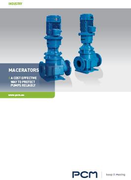 Brochure macerators