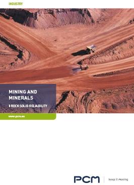 Catalogo di pompe e sistemi per la industria mineraria