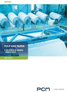 Catalogo di pompe e sistemi per il carta