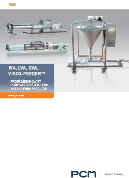 Catálogo bombas de tornillo IVA/LVA y sistema de transferencia/dosificación Viscofeeder™