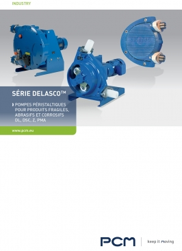 Brochure pompes péristaltiques DELASCO