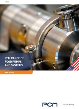 Brochure range food pumps systems