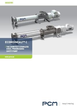小册子 - EcoMoineau™ C 不锈钢螺杆泵
