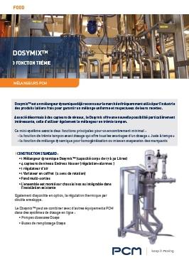 Fiche produit - PCM Dosymix™ fonction trémie