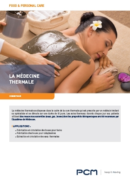 Fiche application médecine thermale