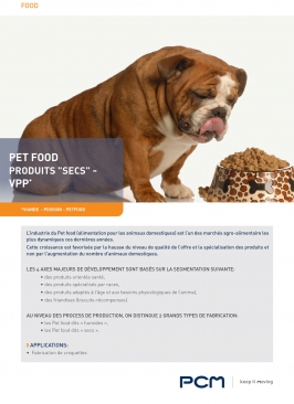 Fiche application pet food secs