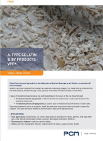 Application sheet - Gelatin