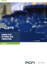 GAMMA PCM DI POMPE PER L'INDUSTRIA