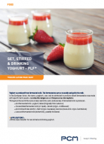 Брошюра по термостатным,  питьевым и йогуртам с нарушенным сгустком