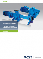 Brochure cast iron EcoMoineau M