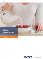 Brochure dosing application
