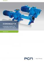 Brochure pompe en fonte EcoMoineau M