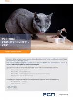 Fiche application Pet Food Humides