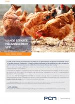 Fiche application viande séparée mécaniquement