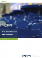 PCM Lieferprogramm - Industriepumpen