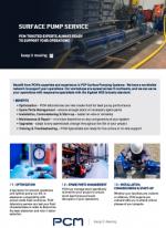 PCM Surface Pump service