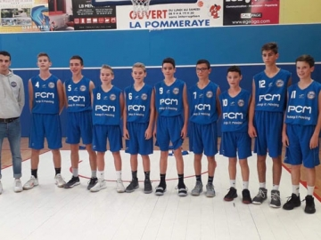 Sponsoring of a local French basketball team