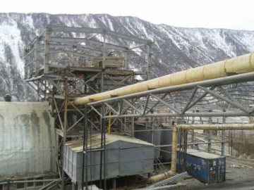Gold mining in Siberia
