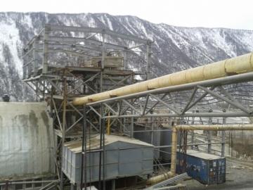 蠕动泵在西伯利亚的金矿