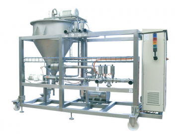 PCM Viscofeeder transfer and dosing system