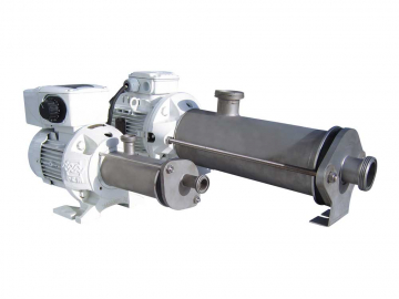 Stainless steel progressing cavity pump PCM EcoMoineau™C floating stator