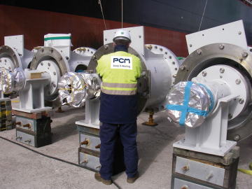 PCM Deepwell vertical pump  (32m lenght) for FPSO (Nigeria)