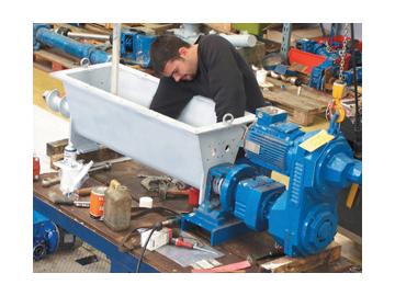 Servicios de reparaciones de las bombas y sistemas PCM