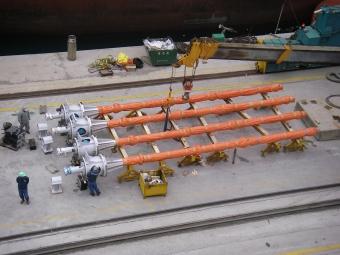 PCM Troika long shaft vertical PCP in FPSO