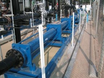 PCM Multiphase Booster-Pumpe am Brunnen Sirikit, Thailand