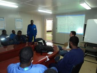 PCM on site training