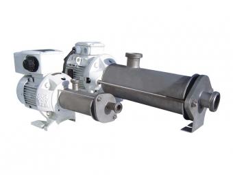 Stainless steel progressing cavity pump PCM EcoMoineau™C floating stator