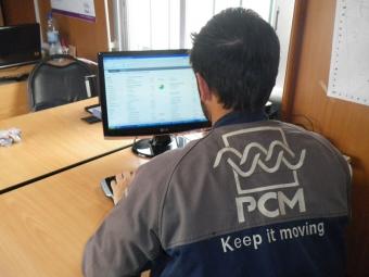 PCM gamma di servizi per il trasferimento in superficie