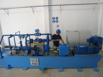 PCP test bench