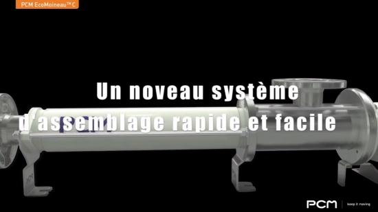 Vidéo PCM EcoMoineau™C – démontage rapide de la ligne d'arbre