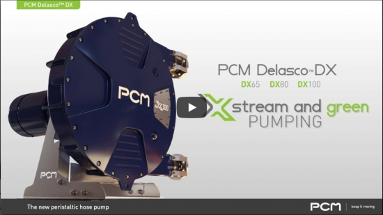 PCM Delasco™ DX peristaltic pump