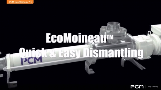 PCM EcoMoineau™C video – Easy and quick dismantling