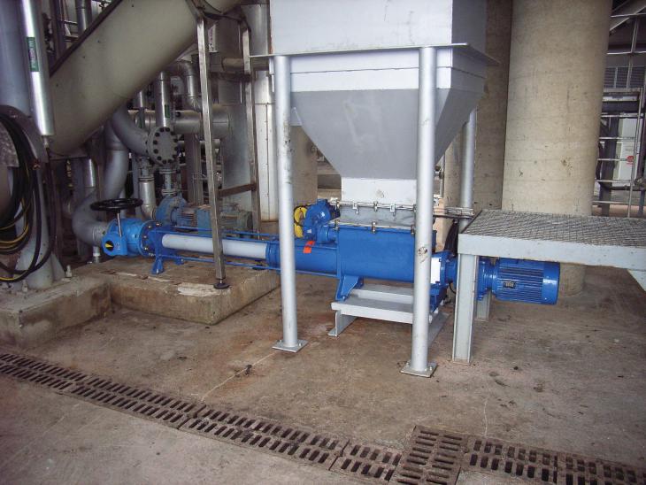 PCM GVA 系列滤渣泵各种应用 -客户现场