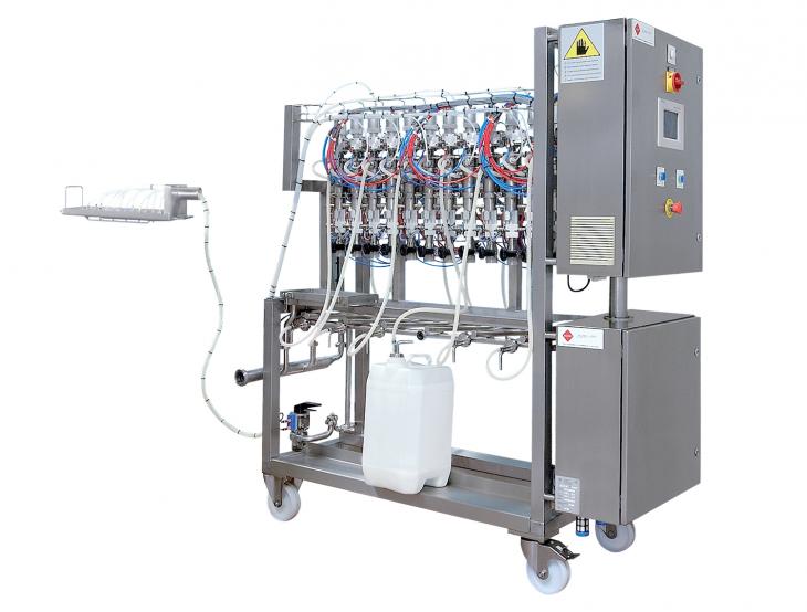 PCM flavor filling station