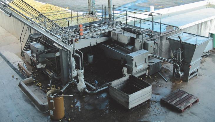 Pompe gaveuse GVA sur site